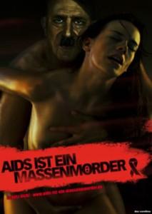 Adolf Hitler als Aids-Prävention? - Foto: www.aids-ist-ein-massenmoerder.de