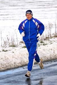 mit Joggen im Winter fit halten