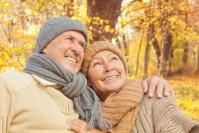 Gesundes Paar im Alter