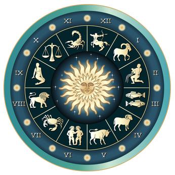 Horoskopscheibe - Sternzeichen
